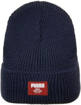 Puma Classic Ribbed Beanie peacoat