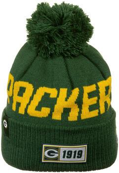 New Era NFL Green Bay Packers Sport Knit Mütze (12050396) dunkelgrün/gelb