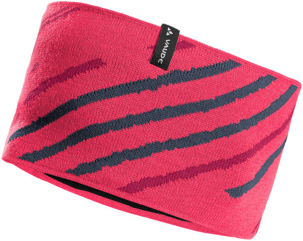 VAUDE Back Bowl Headband bright pink