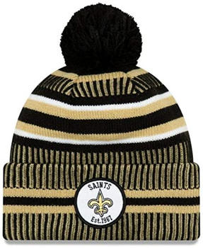 New Era Bobble NFL Hat New Orleans Saints