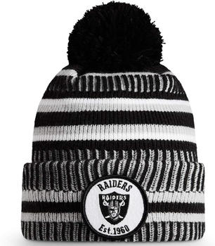New Era Bobble NFL Hat Oakland Raiders