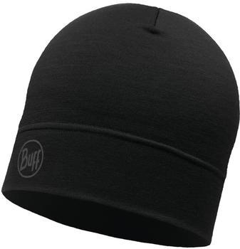 Buff Merino Woll Hat (113013) black