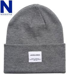 jack & jones Jack & Jones Jaclong Knit Beanie Noos (12150627) grey melange