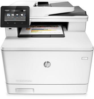 Hewlett-Packard HP Color LaserJet Pro MFP M477fnw (CF377A)