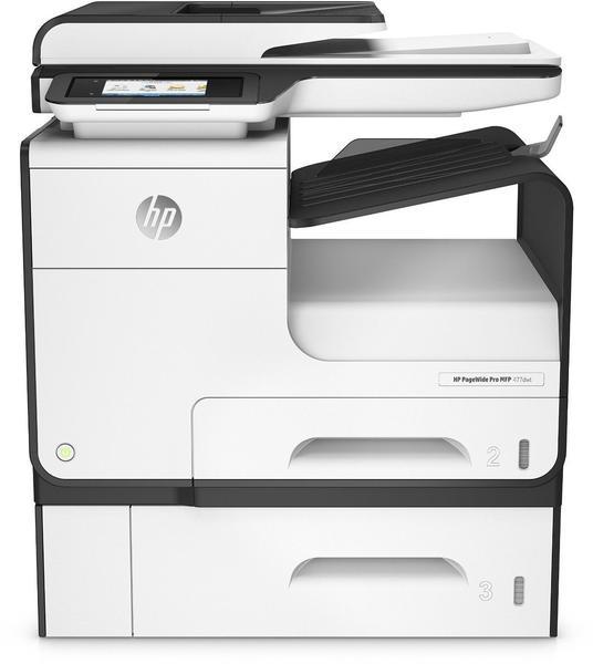 HP PageWide Pro 477dwt MFP inklusive zusätzlichem Papierfach (W2Z53B#A80)