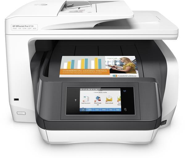 Hewlett-Packard HP Officejet Pro 8730 (D9L20A)