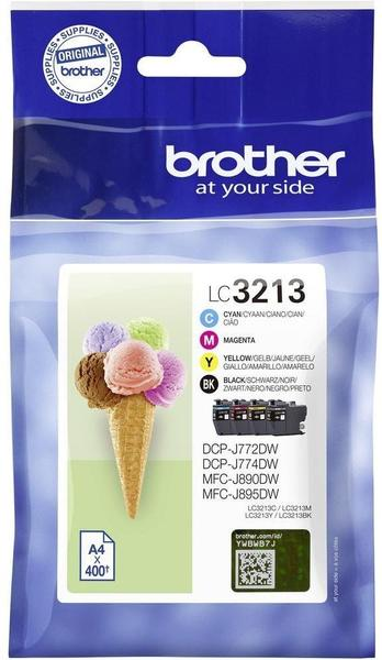 Brother LC-3213VAL ValuePack 4-farbig (LC3213VALDR)