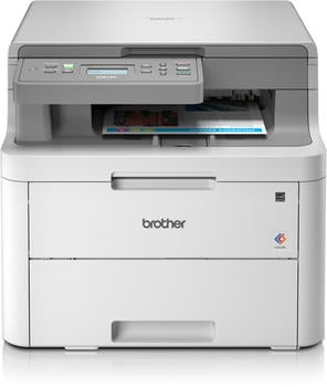 Brother DCP-L3510CDW Farblaser-Multifunktionsdrucker Scanner Kopierer WLAN