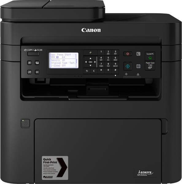 Canon i-SENSYS MF264dw Laser-Multifunktionsdrucker