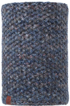 Buff Knitted & Polar Neckwarmer Margo blue