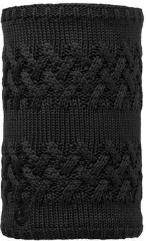 Buff Knitted & Polar Neckwarmer Savva black
