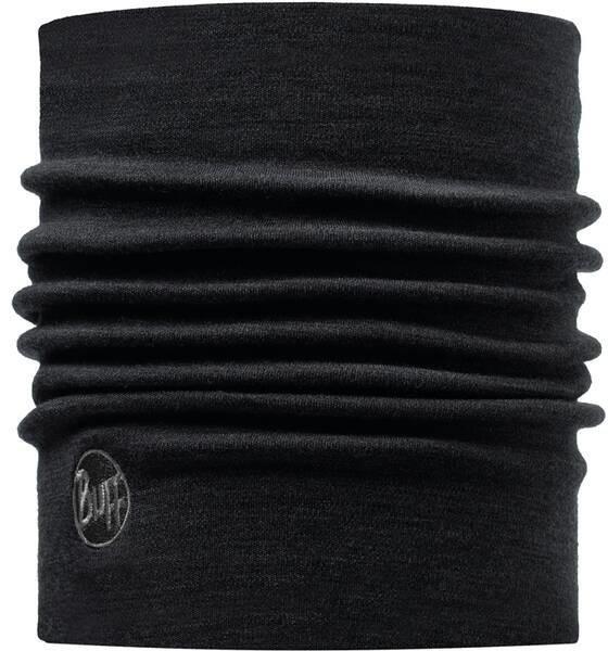 Buff Tube Scarf Heavyweight Merino Wool black (110963)