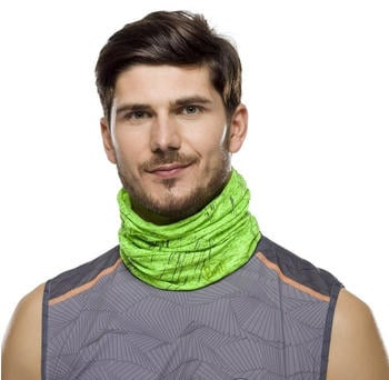 Buff Coolnet Reflective UV+ r-lime htr