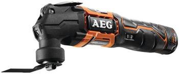 AEG 12V Multifunktions-Multifunktionswerkzeug - 2 Batterien 1,5 Ah - 1 Ladegerät BMT12C-152B