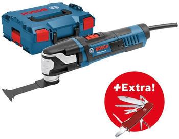 Bosch Professional Multifunktionswerkzeug inkl. Koffer 550W GOP 55-36 + AC (L) + Victorinox 0615990K