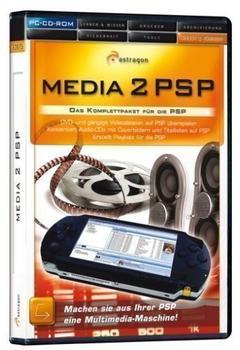 Astragon Media 2 PSP, 1 CD-ROM Das Komplettpaket für die PSP. Machen Sie aus ihrer PSP eine Multimedia-Masc