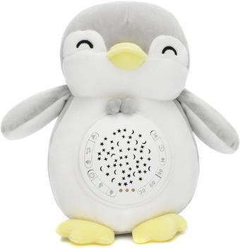 Fillikid Einschlafhilfe Plüschtier Pinguin mit Licht und Sound