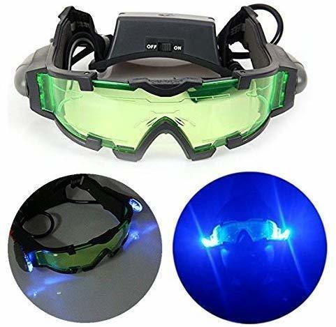 Gearmax Nachtsichtgerät Nachtsichtbrille Nachtbeleuchtung LED Lampe Brille New Night Goggles