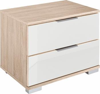 Wimex Easy 52cm struktureiche/Weißglas