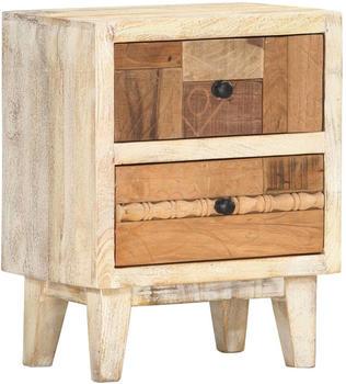 vidaXL Bedside Table Reclaimed Wood 40 x 30 x 50 cm