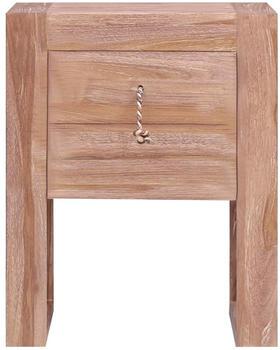 vidaXL Bedside Table Teak 40 x 30 x 50 cm