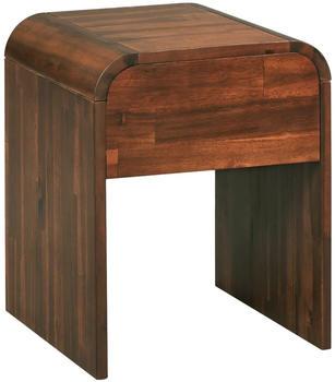 vidaXL Bedside Table Acacia Wood 41,5 x 42 x 52 cm