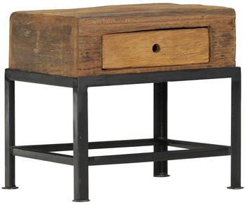 vidaXL Bedside Table Reclaimed Wood 40 x 35 x 40 cm