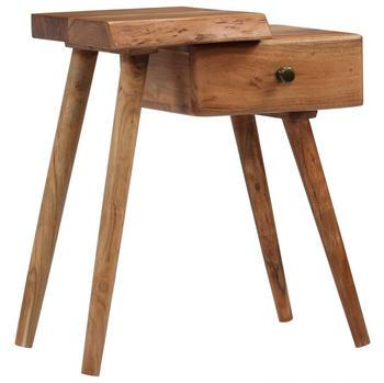 vidaXL Bedside Table in Acacia 45 x 32 x 55 cm