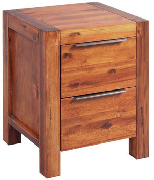 vidaXL Bedside Table Acacia Wood 45 x 42 x 58 cm