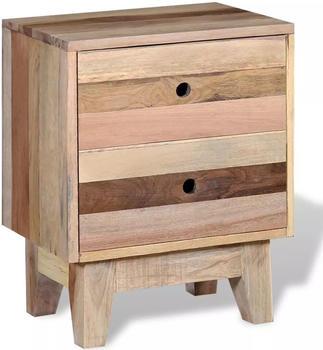 vidaXL Bedside Table in Reclaimed Wood