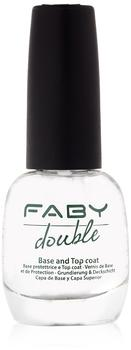 FABY Double Base and Top Coat 15 ml