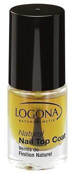 Logona Natural Nail Top Coat (4 ml)