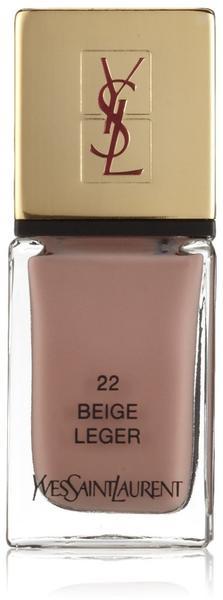 Yves Saint Laurent La Laque Couture - 22 Beige Leger (10 ml)