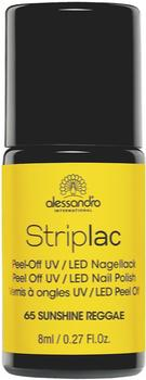 Alessandro Striplac Peel or Soak - Midnight Black (8ml)
