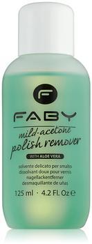 FABY Mild Acetone Polish Remover 125 ml