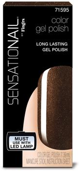 Sensationail Nail Polish gel color expresso bean