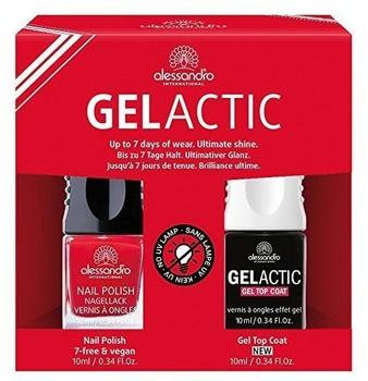 Alessandro Gelactic Nail Set - Red