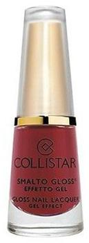 Collistar Gloss Nail Laquer Gel Effect - 579 Montalcino Red (6 ml)