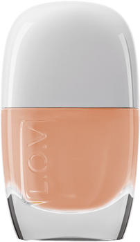 L.O.V. Divine Sheer Beauty Nail Lacquer - 510 Ivory Elegance (11ml)