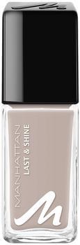 Manhattan Last & Shine Nail Polish, Nagellack Farbe: 427, Rain rain go away, 1er Pack (1 x 10 ml)