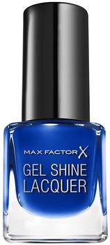 Max Factor X Gel Shine Lacquer 40 Glazed Cobalt