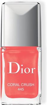 Dior Vernis Nail Polish - 445 Coral Crush (10 ml)