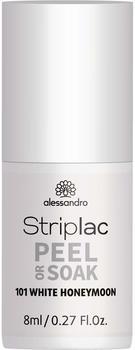 Alessandro Striplac Peel or Soak - White Honeymoon (8ml)