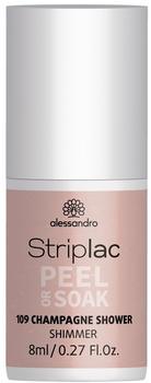Alessandro Striplac Peel or Soak - 109 Champagne Shower (8ml)