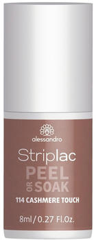 Alessandro Striplac Peel or Soak - 114 Cashmere Touch (8ml)