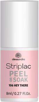 Alessandro Striplac Peel or Soak - 486 French Rose (8ml)
