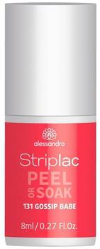 Alessandro Striplac Peel or Soak - 131 Gossip Babe (8ml)