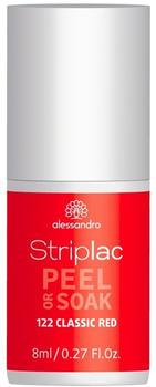 Alessandro Striplac Peel or Soak - Classic Red (8ml)