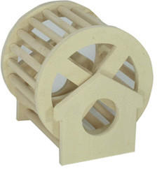 Elmato Hamsterlaufrad aus Holz (ø 12 cm)