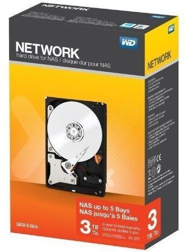 Western Digital Network Retail Kit SATA 3TB (WDBMMA0030HNC)